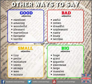Other Ways To Say Better Things