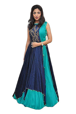 Women Koti Type Banglory silk Gown
