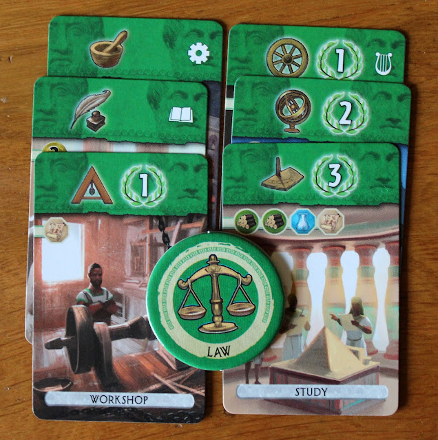 7 Wonders: Duel review - science cards