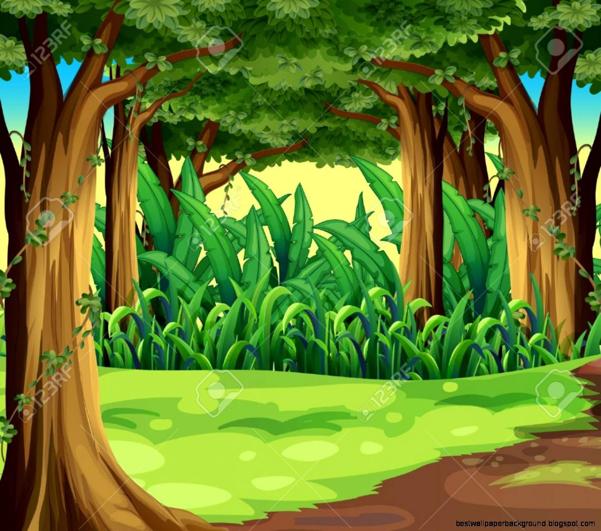 Animated Jungle Backgrounds | Best Wallpaper Background