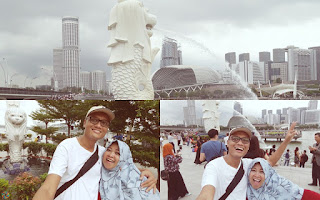 At Singapore - Sister Citynya Batam !