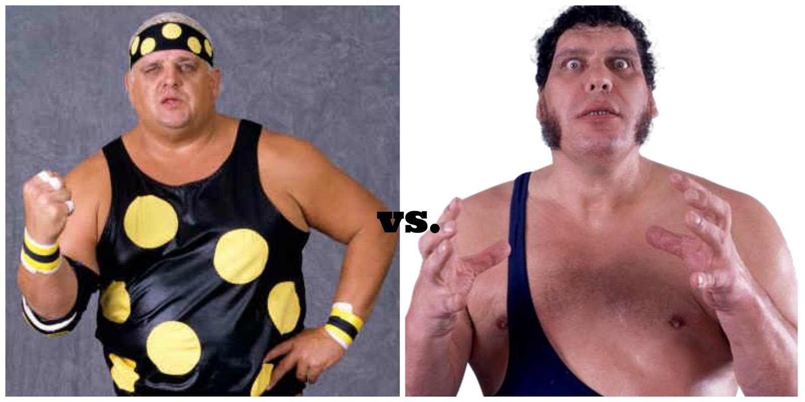 We all know Dusty was a big guy. But an even bigger guy was Andre the  Giant. The two did wrestle each other in 1980 in Japan. They were 10 years  younger ...