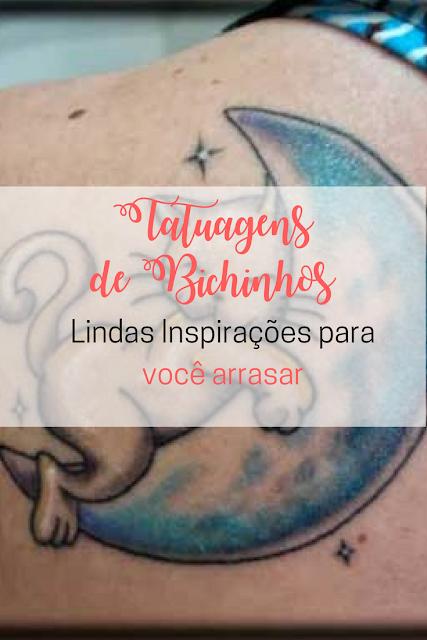 Tatuagens de Bichinhos: Lindas Inspirações para Você