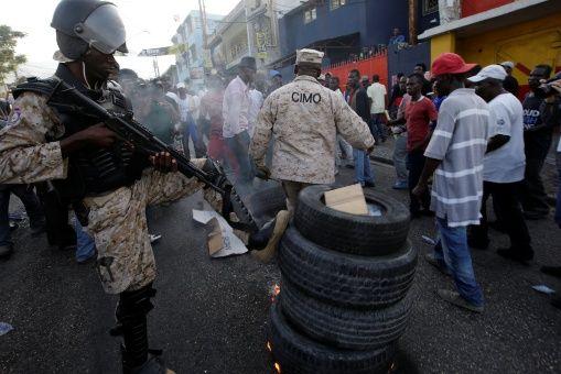 Manifestantes en Haití exigen emitir resultados de elecciones