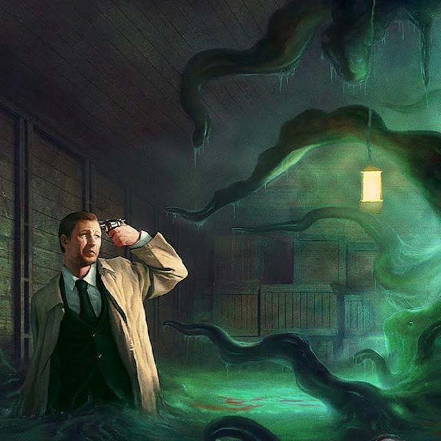 HP.Lovecraft Wallpaper Engine