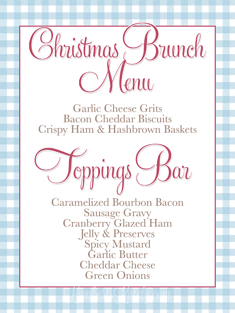 Planning a Southern Christmas Brunch (and a Giveaway!) | Lamberts ...