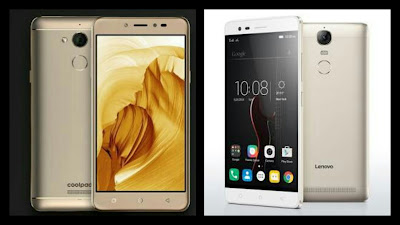 Coolpad Note 5 vs Lenovo Vibe K5 Note
