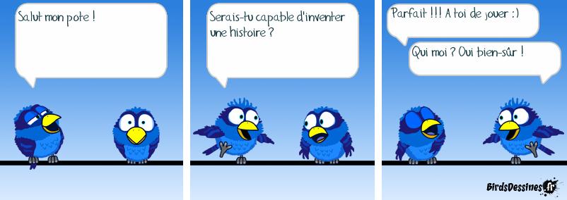 bande dessinee oiseaux