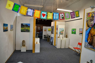 Bhavana Project Flags in Red Bluff Art Gallery