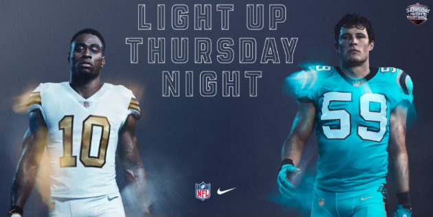 Brandin Cooks et Luke Kuechly sont les têtes d'affiches de ce Thursday Night Football