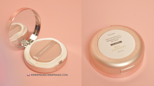 Review Wardah Instaperfect BB Cushion lokal