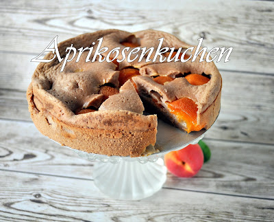 Aprikosenkuchen, low carb