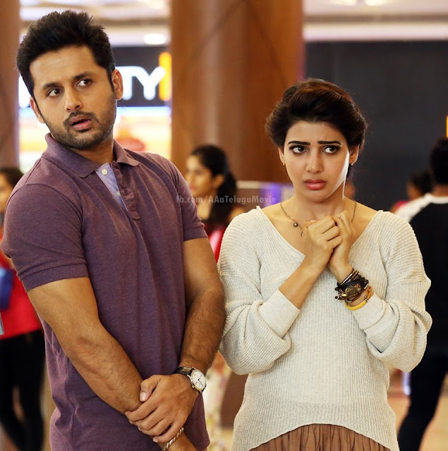Nithin, Samantha Ruth Prabhu and Anupama Parameswaran