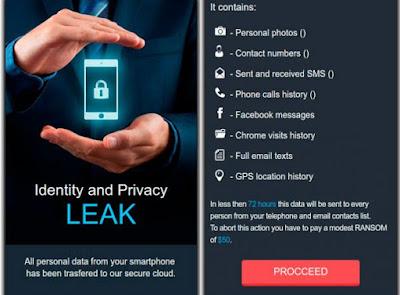 Awas, Ransomware Ini Akan Mengekspose Riwayat Browsing Android Kamu