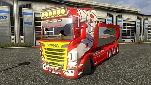 Scania Streamline Mega Tuning Mod