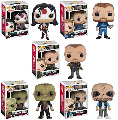 Suicide Squad Pop! Movies Series Vinyl Figures by Funko