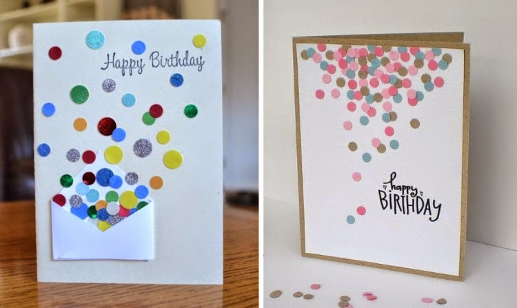 How To Make Handmade Birthday Cards For Friends