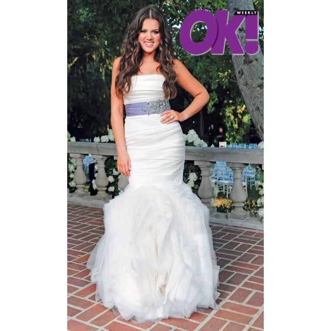 Khloe Kardashian Wedding Gown: Little By Little Lifestyle: Wedding Dresses