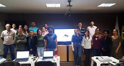 Superintendência de Belo Horizonte participa do treinamento em ArcGIS Pro