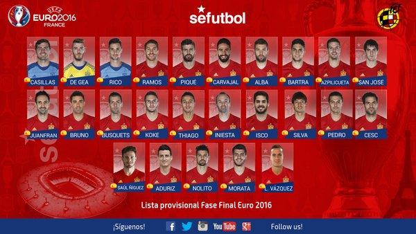 Skuad Resmi Spanyol