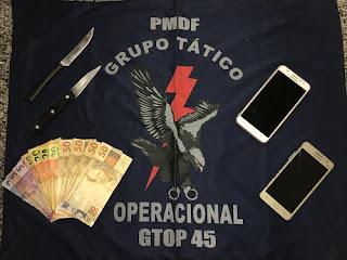 PMDF desmantela quadrilha de travestis que roubavam motoristas no Núcleo Bandeirante-DF