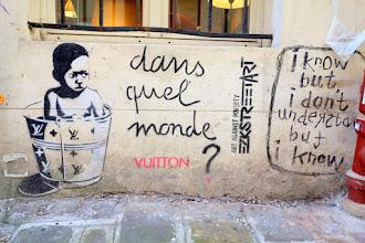 Sunday Street Art : Ezk Street Art - impasse des Arbalétriers - Paris 3