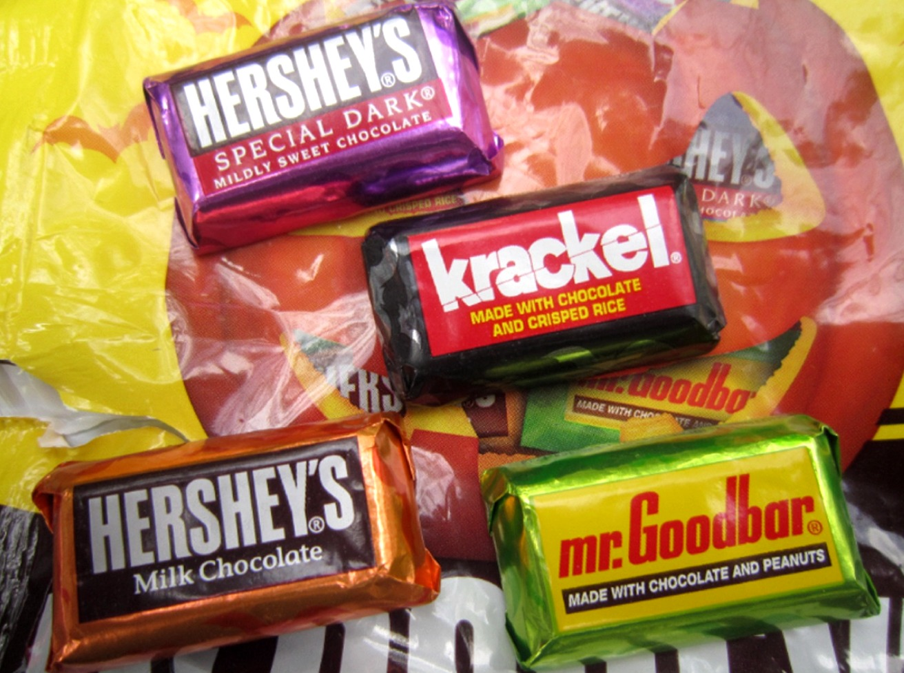 The Holidaze Reese S And Hershey Candy Bags