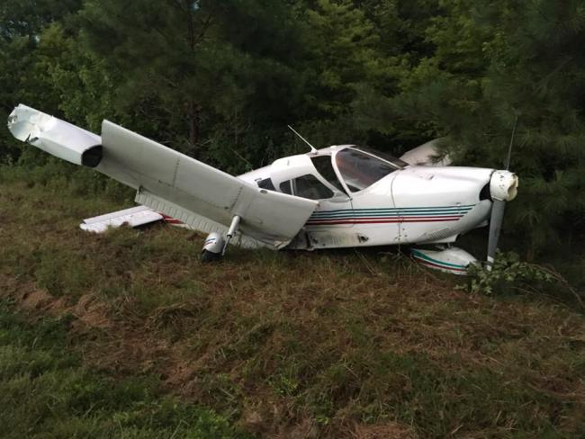 Kathryn's Report: Piper PA-28-180, N2814T: Accident occurred