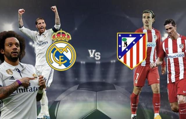 مشاهدة مباراة ريال مدريد واتليتكو مدريد بث مباشر اليوم 09-02-2019 في الدوري الاسباني