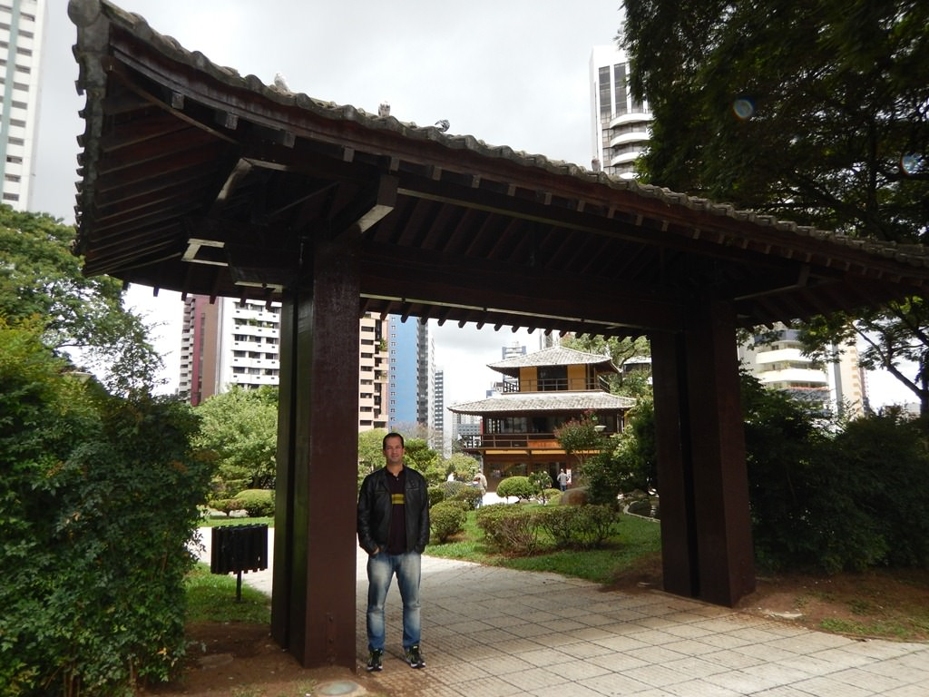 Portal Japonês na Praça do Japão