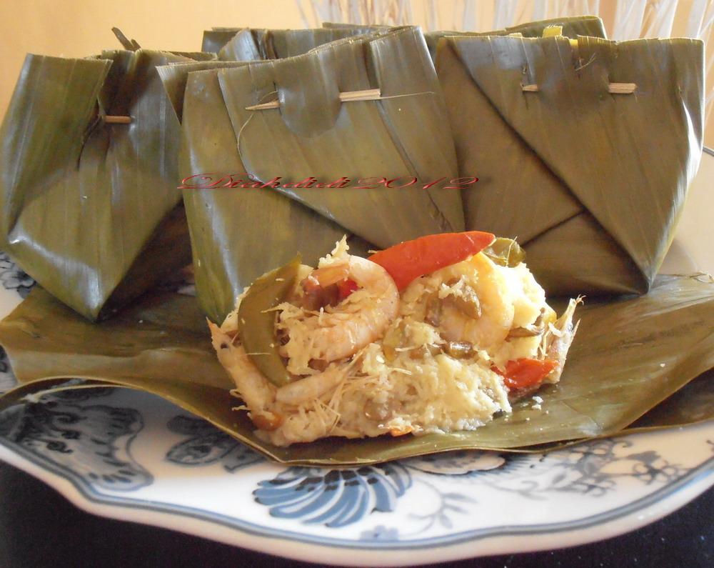 Resep Cake Pisang Diah Didi: Diah Didi's Kitchen: Bothok Mlanding Udang