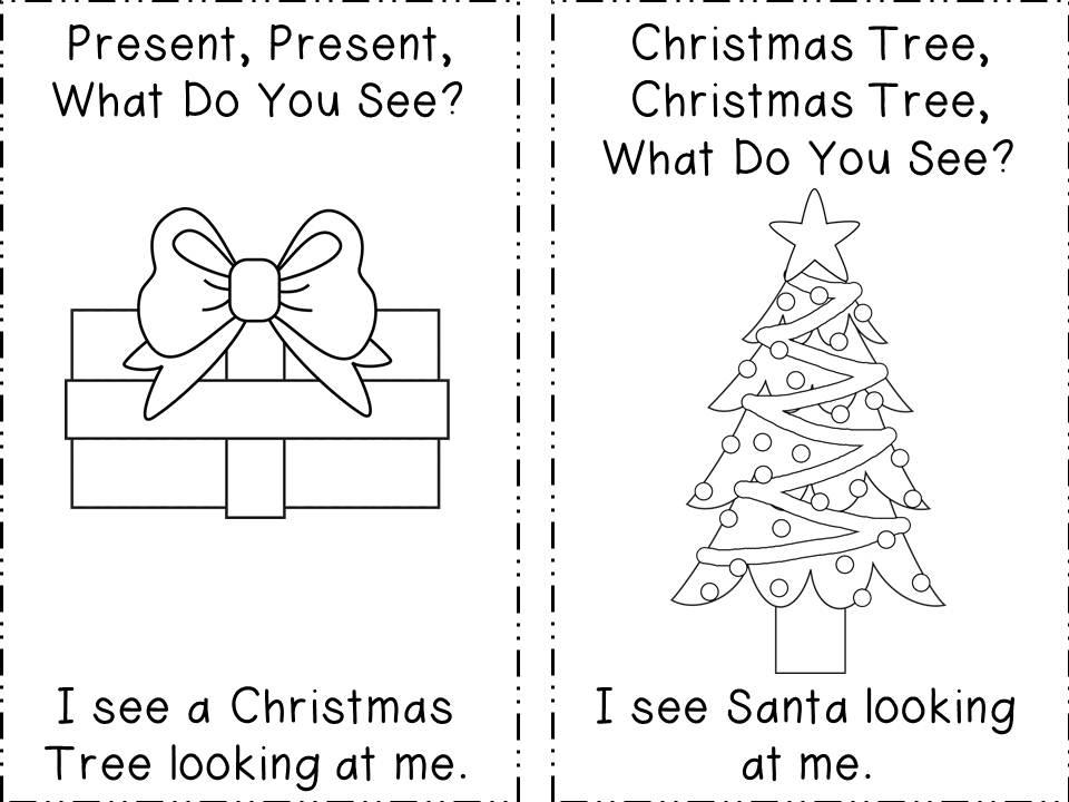 The Teacher's Backpack: Christmas Write the Room and Santa