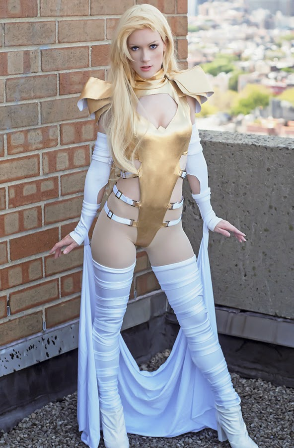 phoenix force emma frost by anime angel cosplay