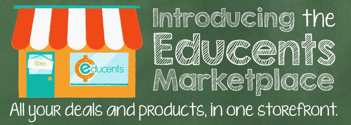 Introducing the New Educents Marketplace!