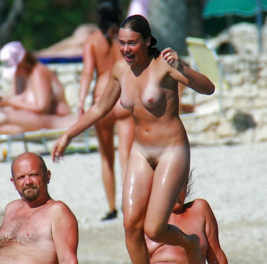 Nudism - Photo - Hq  Tanlines - Girls - Nude Beach-6237