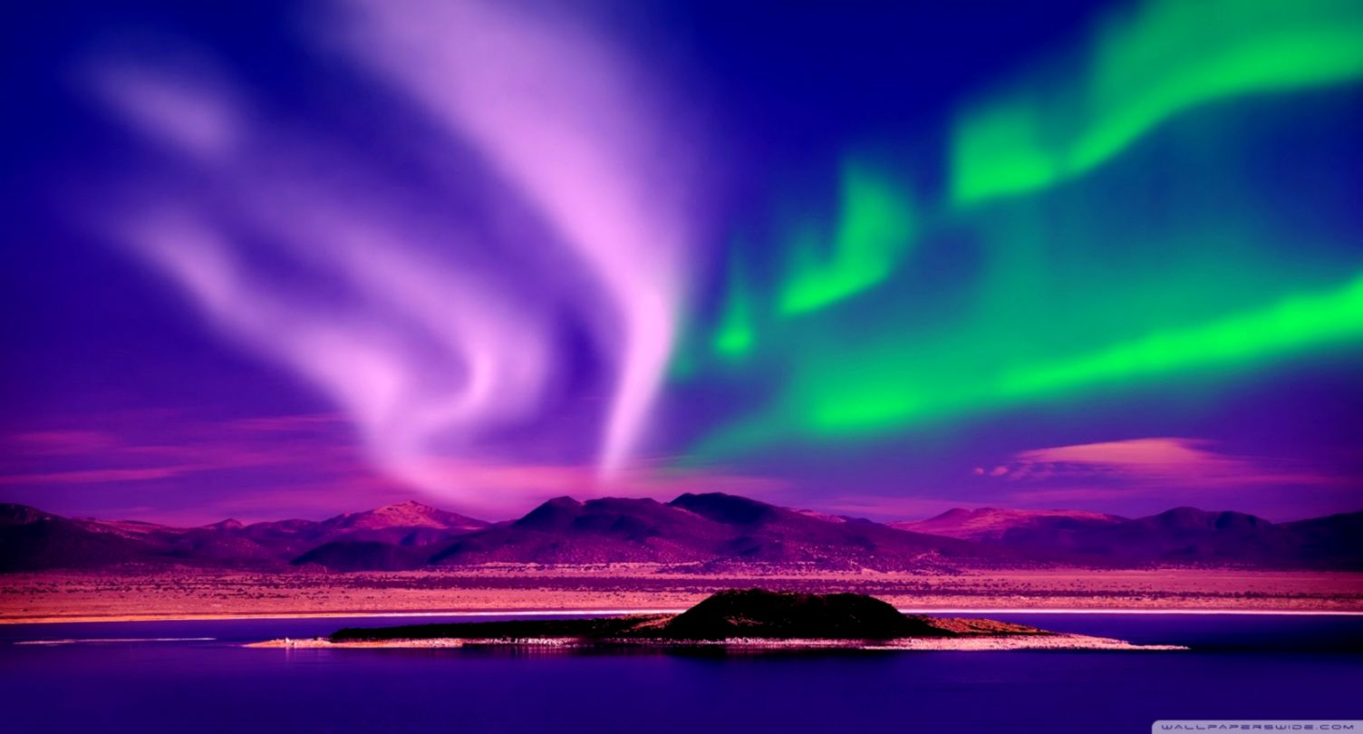aurora borealis wallpaper hd