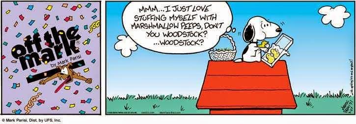 Fumetti Digitali Snoopy Mangia Woodstock