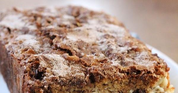 Jam Hands: Cinnamon Swirl Cream Cheese Banana Bread