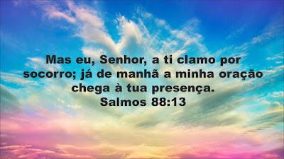 Salmos -  Senhor, a ti clamo por socorro