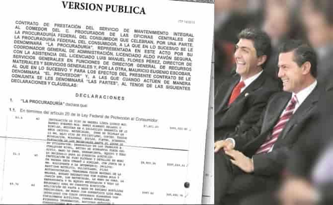 Nemer, Peña Nieto, comedores