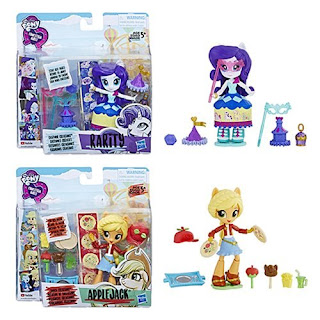 My Little Pony Equestria Girls Minis Applejack Rarity Snack Creations