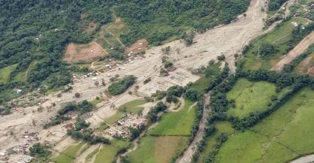 কলম্বিয়ায় ভূমিধসে দুই শতাধিক নিহত
