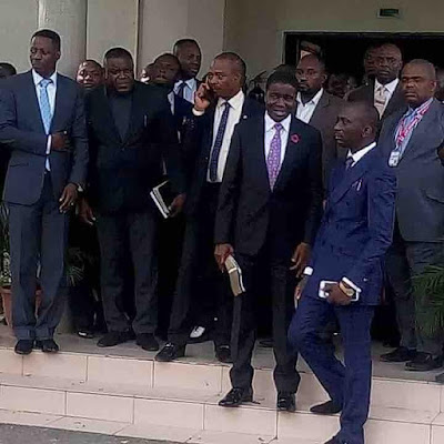 Pastors at Sons of The Prophet's Meeting with Bishop David Oyedepo at Covenant University Chapel.
