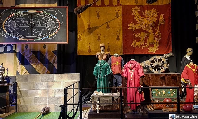 Bastidores dos estúdios do Harry Potter na Warner Bros de Londres