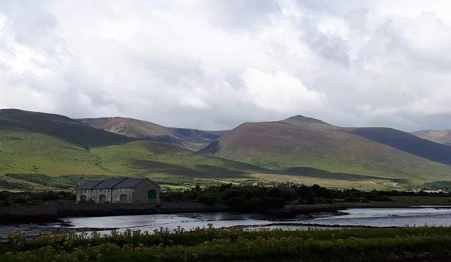 Iranti, Kerry, Tralee, vihreät vuoret