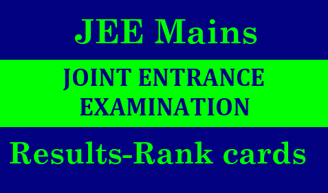 JEE Main Result, Cutoff, Scorecard: Releasing by NTA | JEE Main Result 2019, Score Card, Rank- Check JEE Result Here | JEE Main 2019 Result, NTA JEE Main Result, jeemain.nic.in, nta.ac.in | JEE Main 2019 Result: Scorecard and Rank List, how to check result | JEE Main 2019 Result - Download Score Card & All India Rank | JEE Main 2019 | JEE Main Exam Results 2019 to be declared on January 31st/2019/01/jee-mains-exam-results-jee-mains-rank-cards-jee-main-marks-score-card-jeemain.nic.in.html