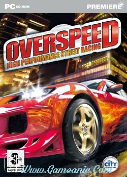 Overspeed High Performance Street Racing Game Cover