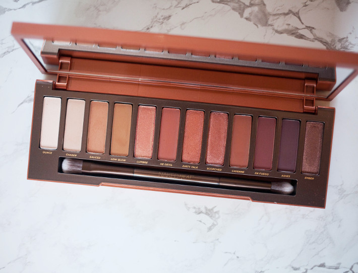 Beauty: Urban Decay Naked Heat review