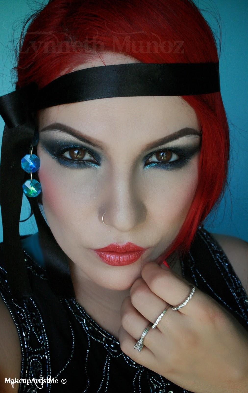 Make-up Artist Me!: 1920s Dramatic Makeup look