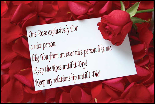 rose day image with Quotes